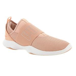PUMA Girls' Dare Interest Mesh Slip-On Sneaker